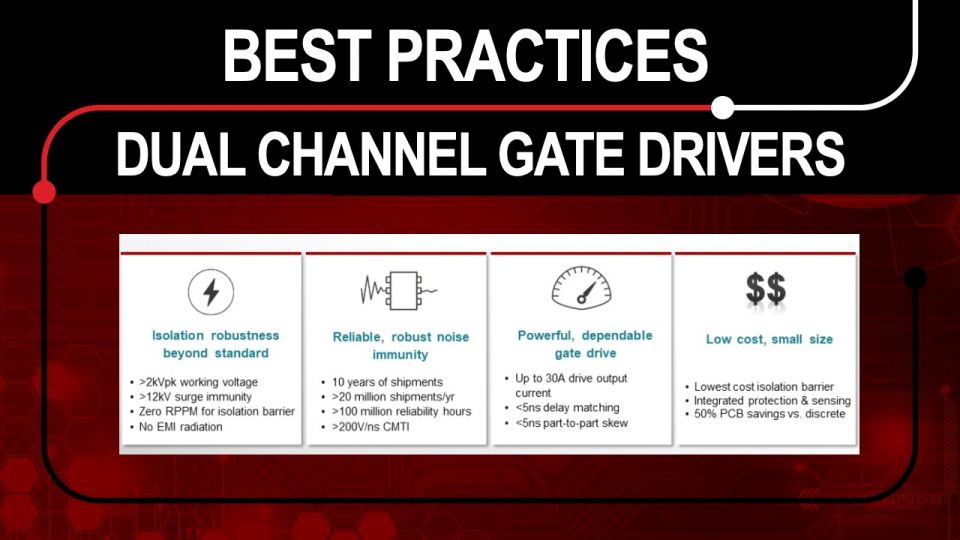 Gate Driver best practices