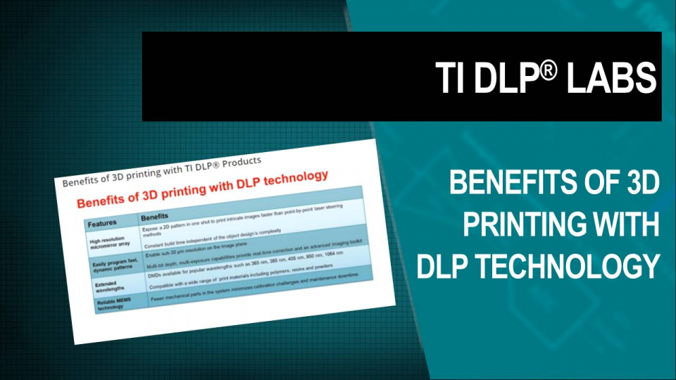 DLP Labs, DLP training, DLP Technology, 3d printing, factory automation 3d print