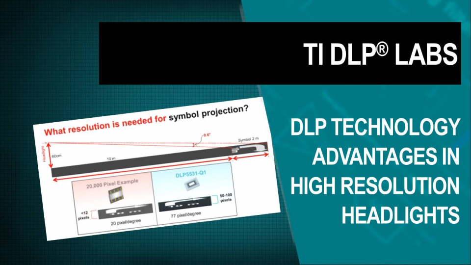 DLP Labs, DLP training, DLP Technology, headlight, headlamp, high resolution headlight, high resolution headlamp, adaptive driving beam,