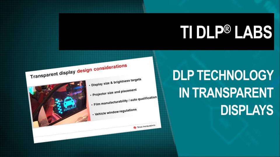 DLP Labs, DLP training, DLP Technology, dlp auto, transparent window display