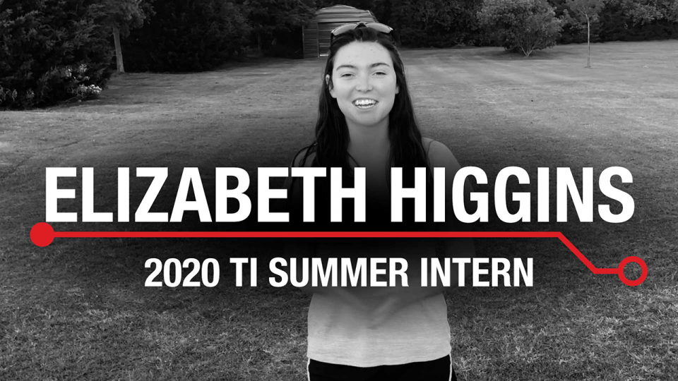 Meet the Intern: Elizabeth Higgins