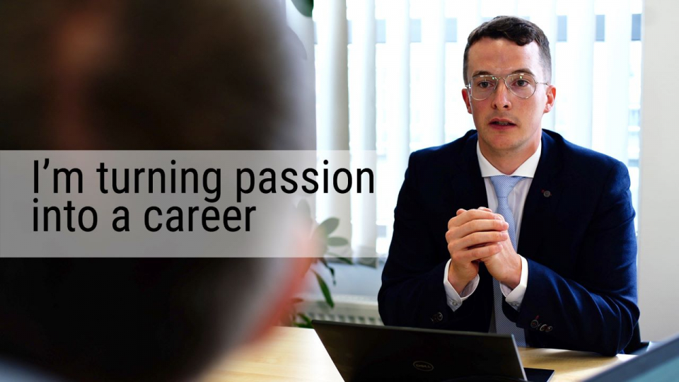 I'm turning passion into a career - TI Employee Perspective