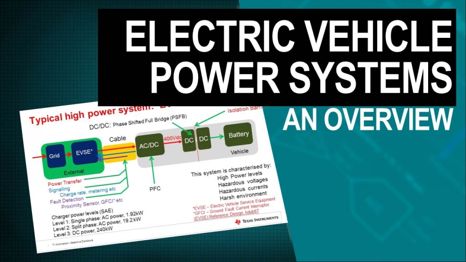 Electric vehicles power systems