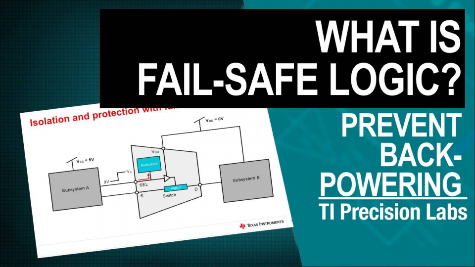 what is fail safe logic prevent back power digital logic translation