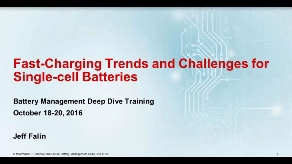 Fast-charging trends and challenges for single-cell batteries