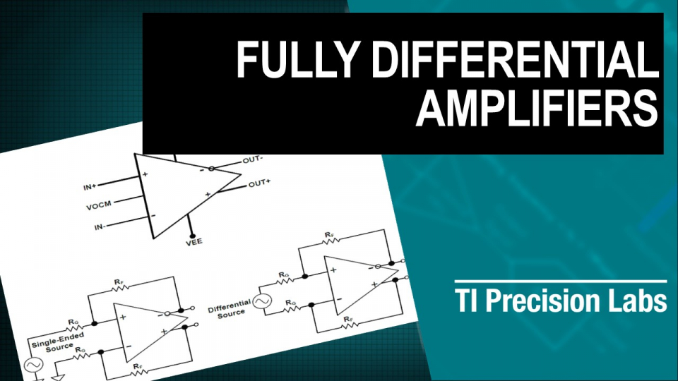 fully differential amplifiers training