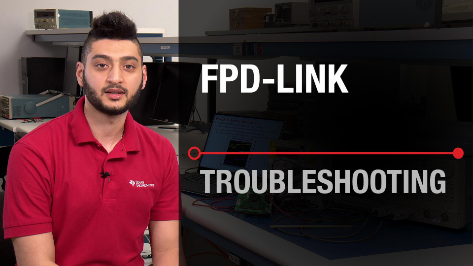 Troubleshooting amplifier FPD-Link integrated circuit oscope oscilloscope PCB best images error practice application ADC System fail sensor datasheet verification failure analysis debugging debug submission FA customer return DAC audio TI help