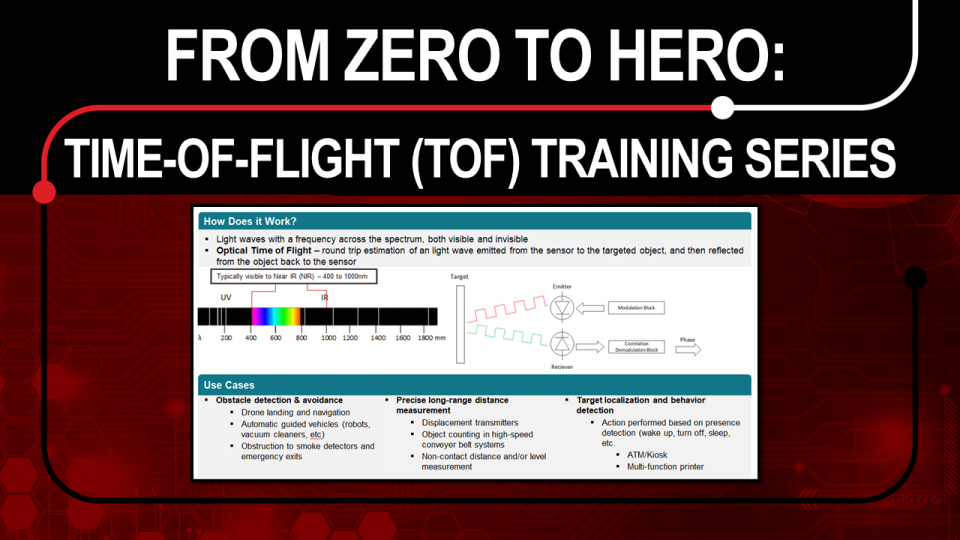 From Zero to Hero: Time-of-Flight Training (ToF) Series