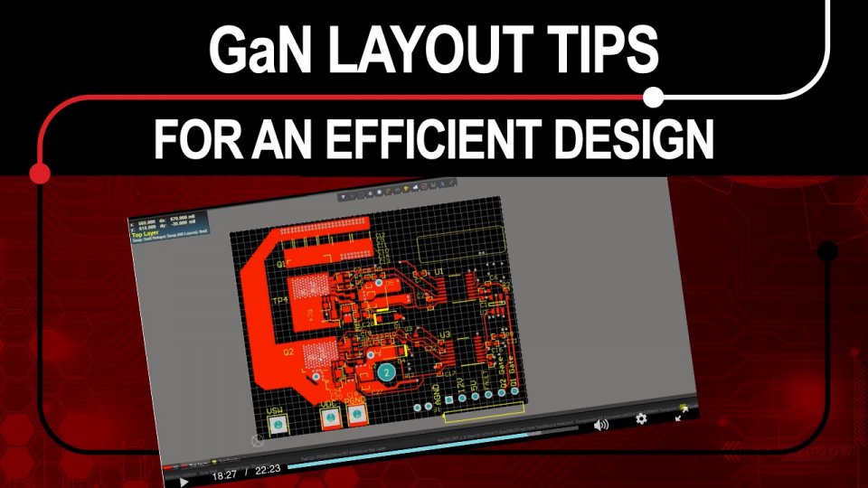 GaN layout video