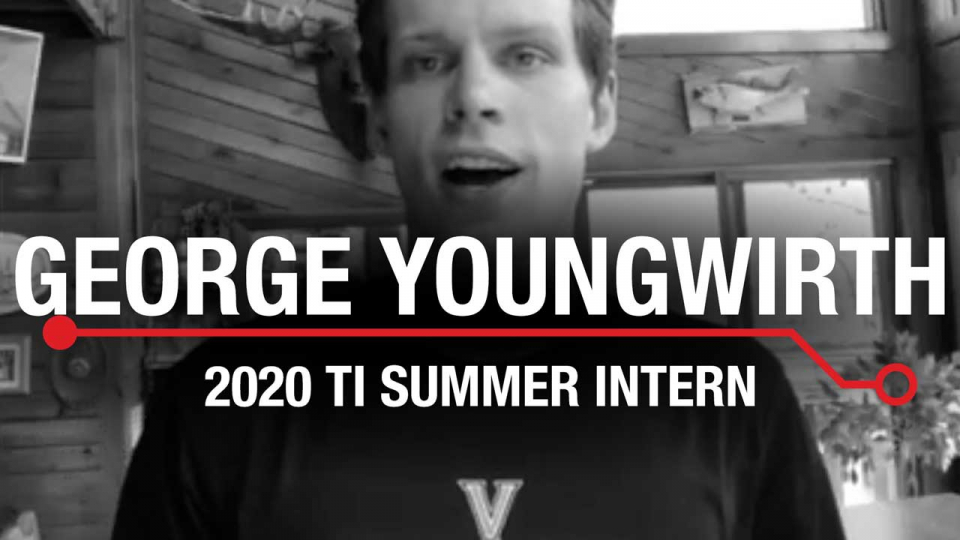 George Youngwirth - 2020 Summer Intern