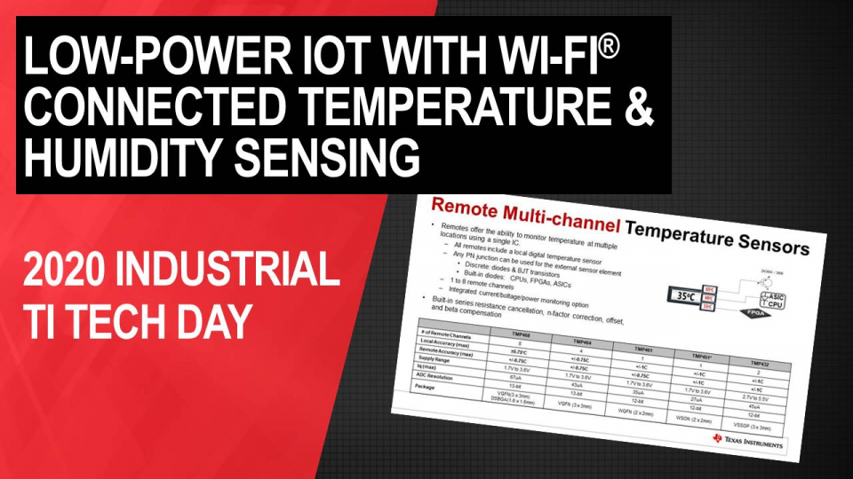 Getting started in low-power IoT with Wi-Fi® connected temperature & humidity Sensing