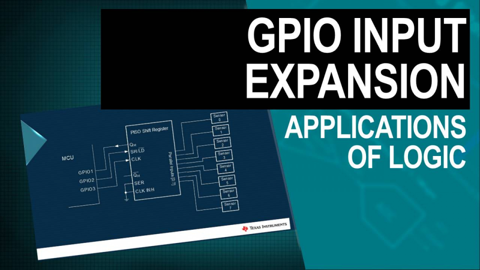 Schematic representation of GPIO Input Expansion