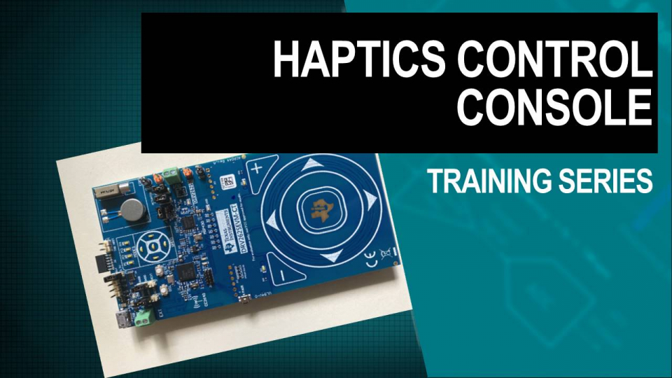 haptics training