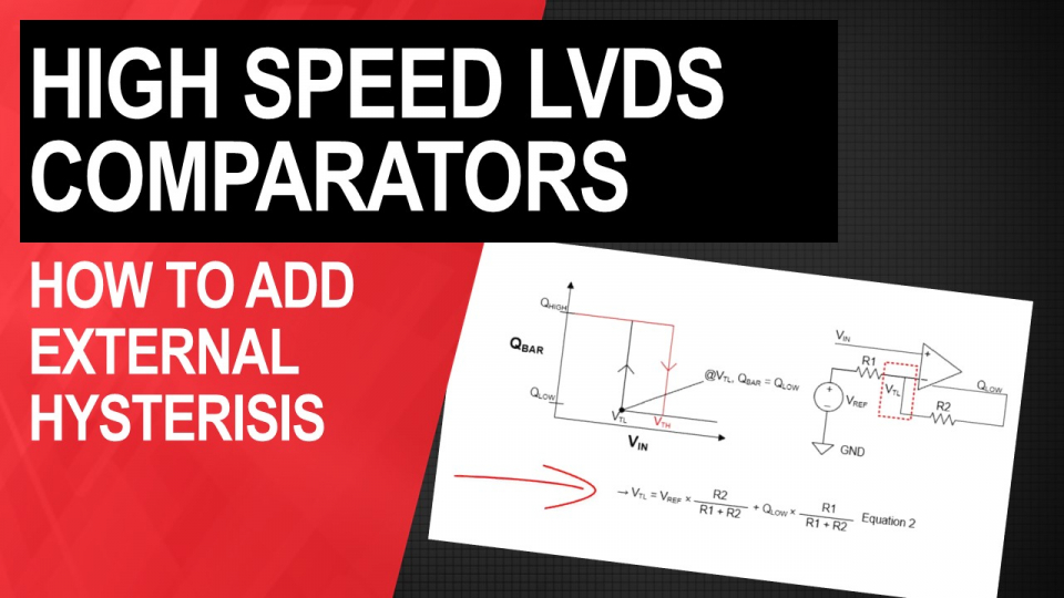 high speed comparators