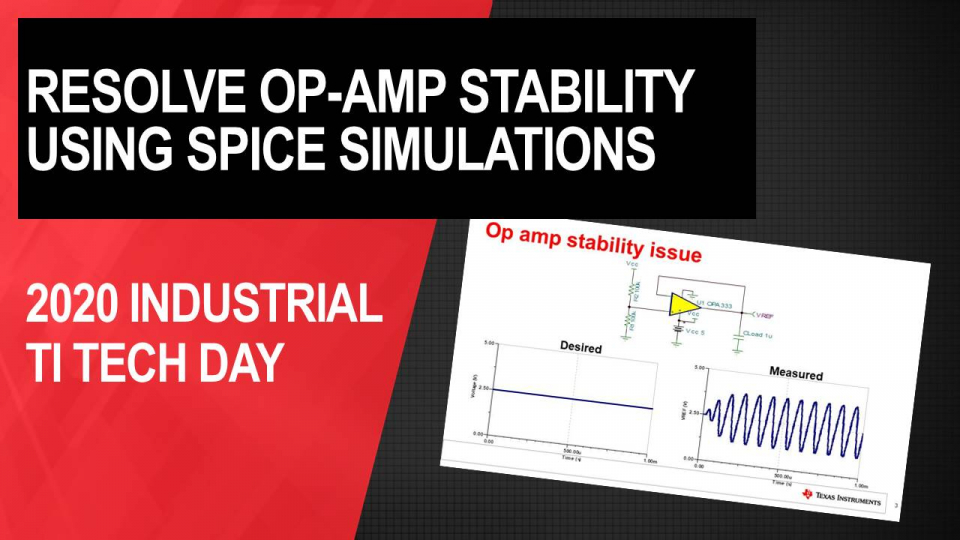 How to resolve Op-Amp stability issues using SPICE simulations