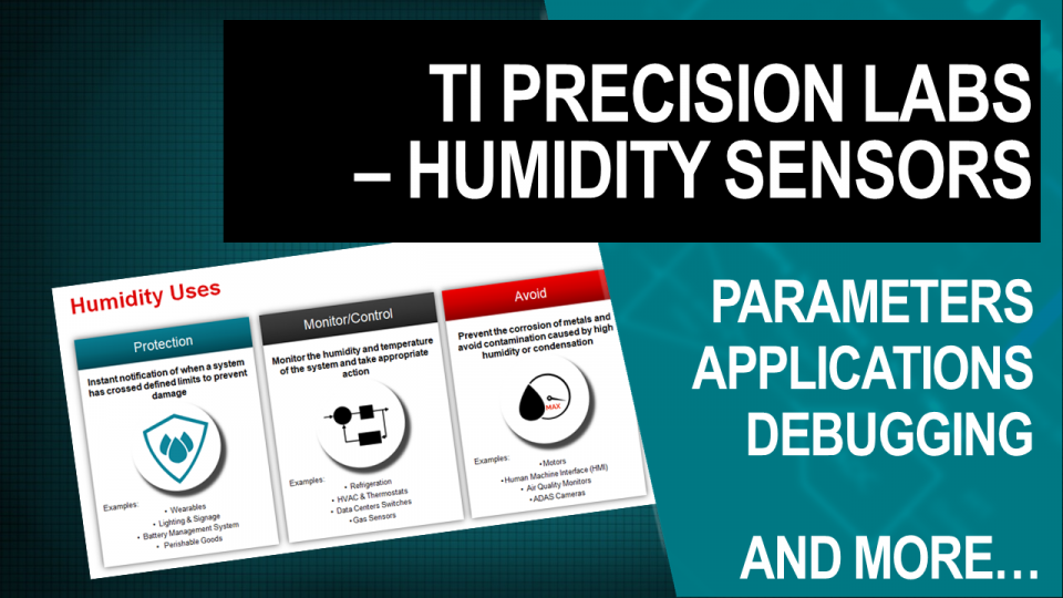 TI Precision Labs - Humidity Sensors