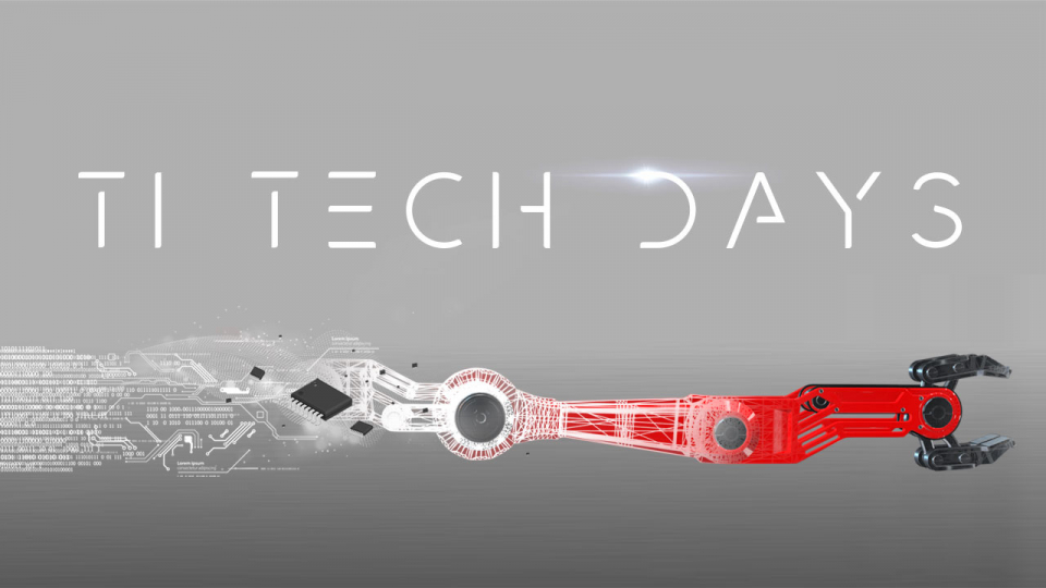 Industrial TI Tech Days 2020