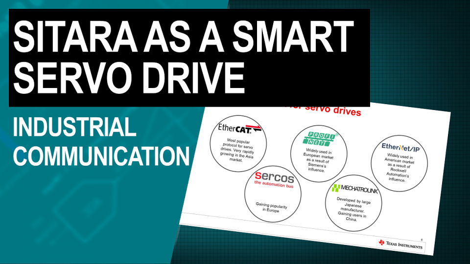 Sitara as a Smart Servo: Industrial Communication