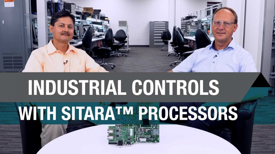 Industrial controls with Sitara processors