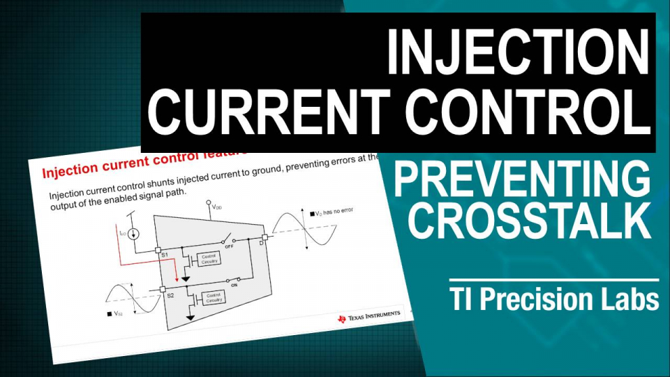 prevent crosstalk injection current control output error due to injected current