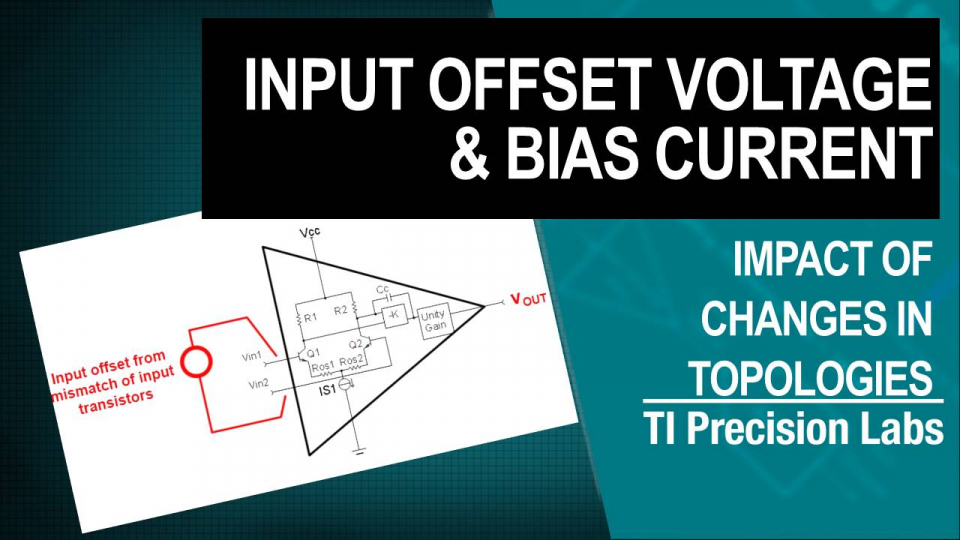 input offset and bias current