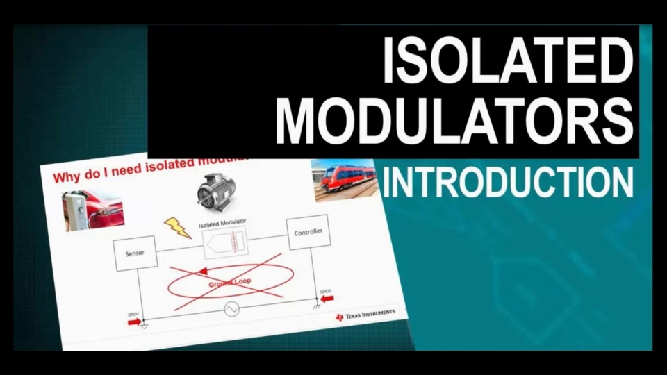 Learn about isolated modulators
