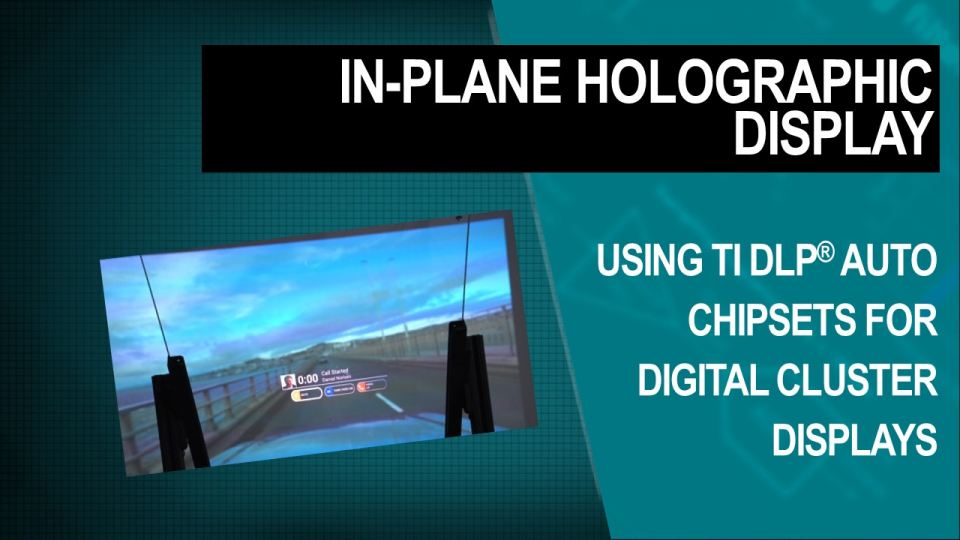 dlp, dlp auto, in plane holographic display, ip hoe, dlp5530s-q1