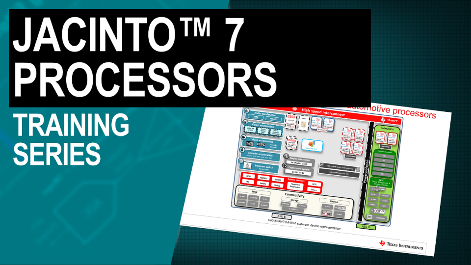 Jacinto 7 processors for automotive applications
