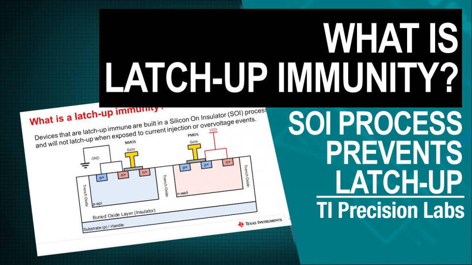 what is cmos latch-up immunity SOI process silicon on insulator parasitic SCR