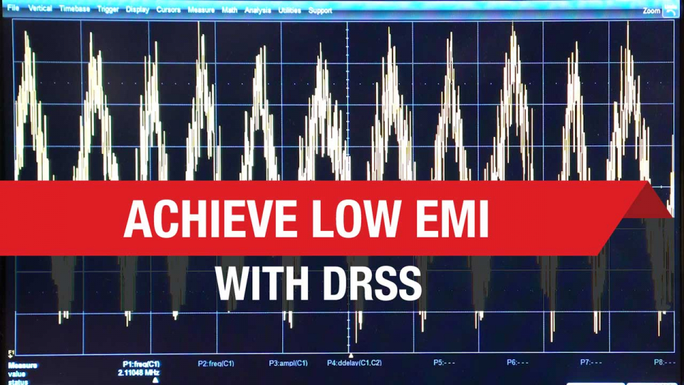 Achieve Low EMI with DRSS
