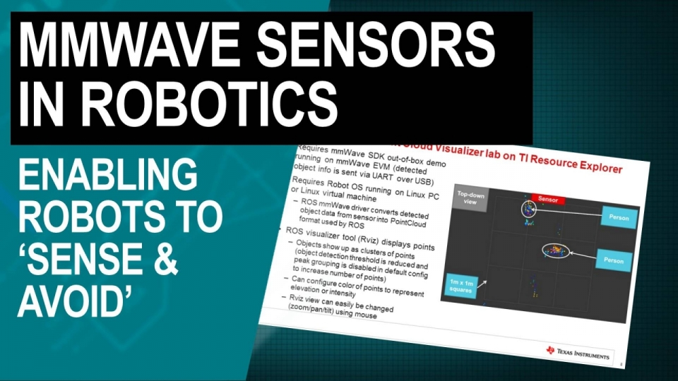 mmWave sensors in robotics: enabling robots to 'sense & avoid'