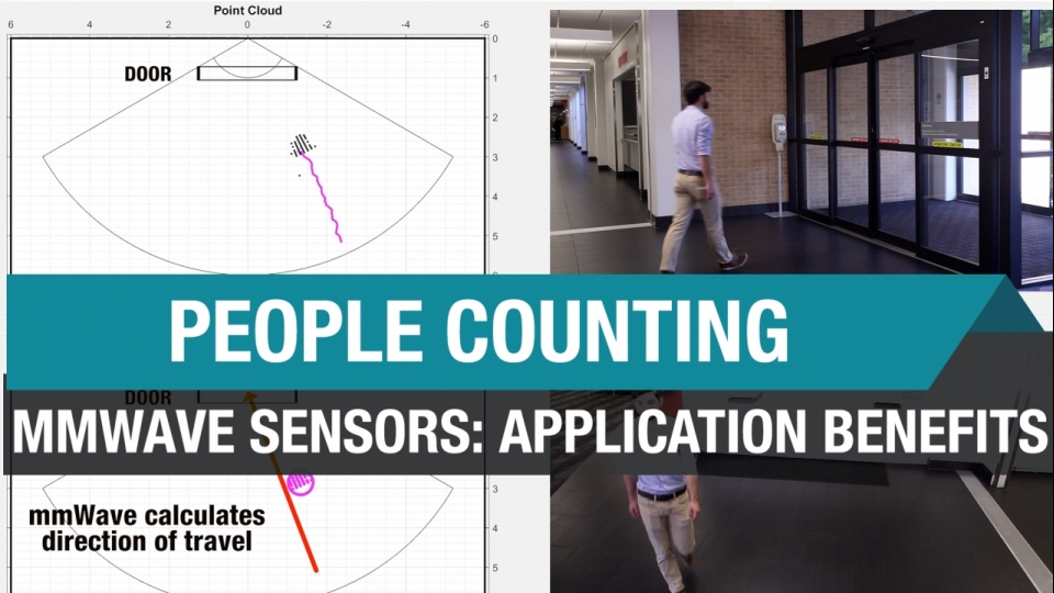 People Counting Application Benefits with mmWave Sensors