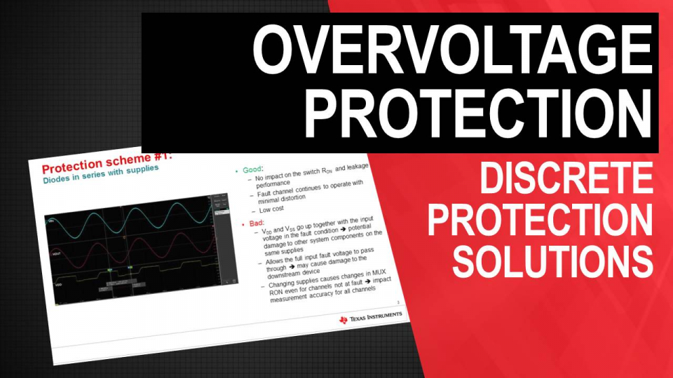 Over-voltage Protection- Discrete Protection Solutions