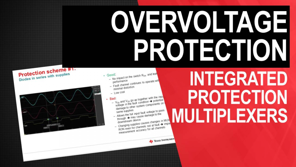 Over-voltage Protection- Integrated Protection Multiplexers