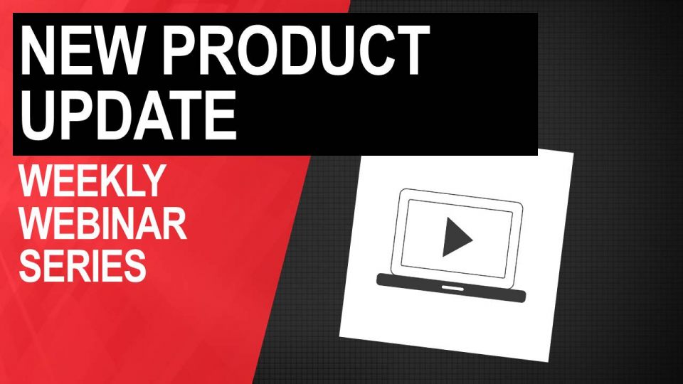 new product update webinar series