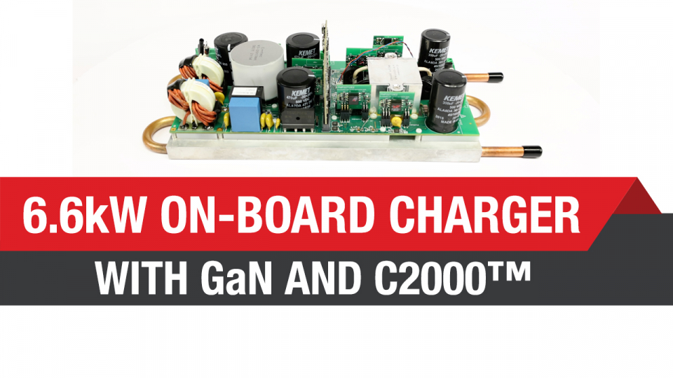 6.6-kW on-board charger