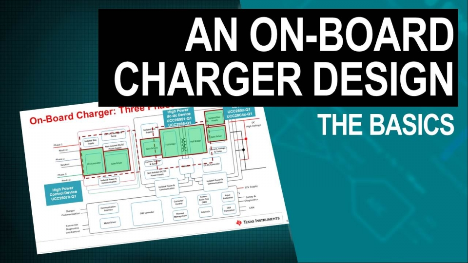 Designing an on-board charger for electric vehicles