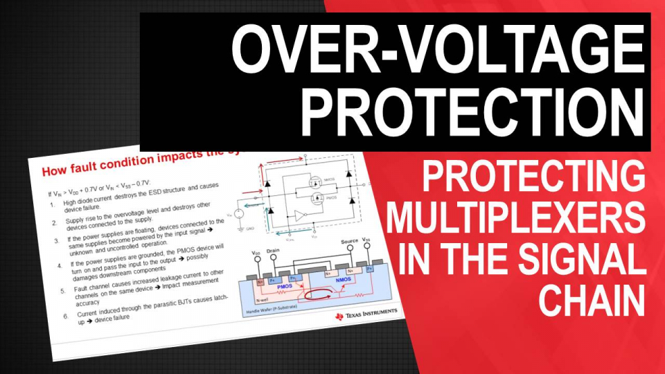 Over-voltage Protection for Multiplexers