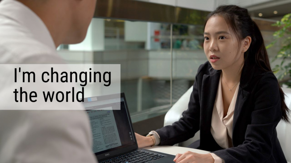 I'm changing the world - TI Employee Perspective
