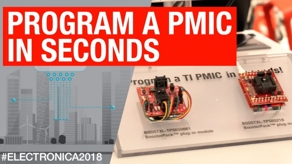 Program a PMIC in seconds