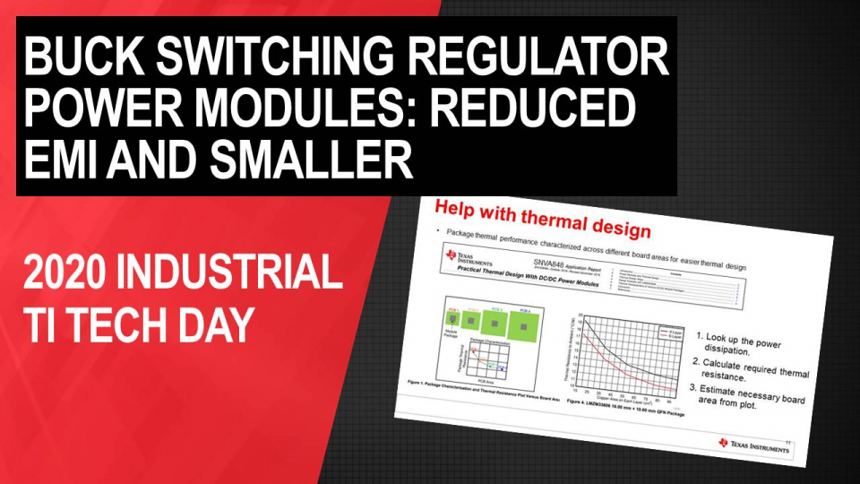 Power modules: Get to market faster with reduced EMI and smaller power supply size