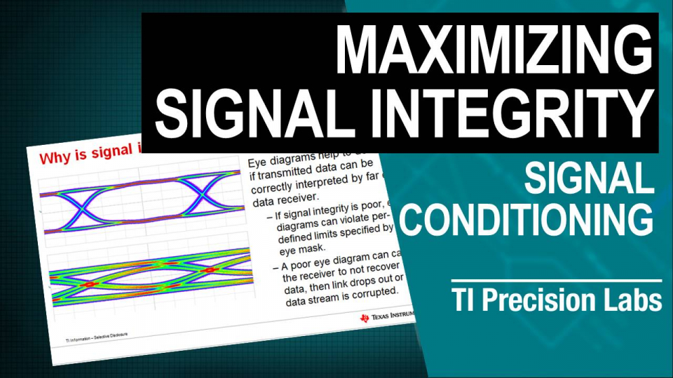 How does signal integrity affect eye diagrams thumbnail
