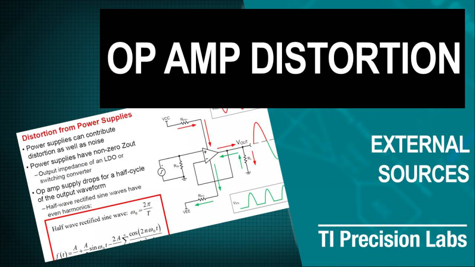 op amp distortion