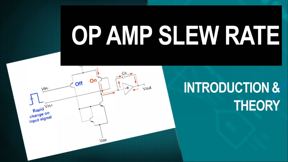 op amps slew rate