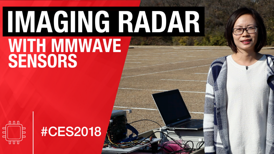 Imaging radar demonstration using mmWave radar sensors