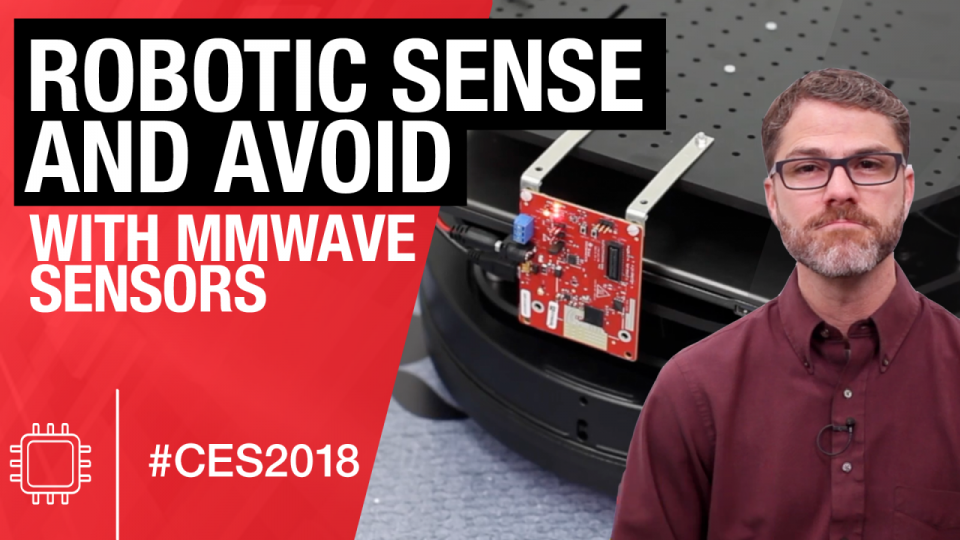 Robotics sense and avoid demonstration using TI mmWave sensors