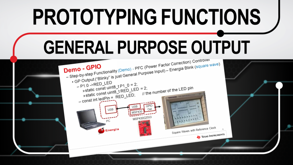 Rapid prototyping functions: GPO