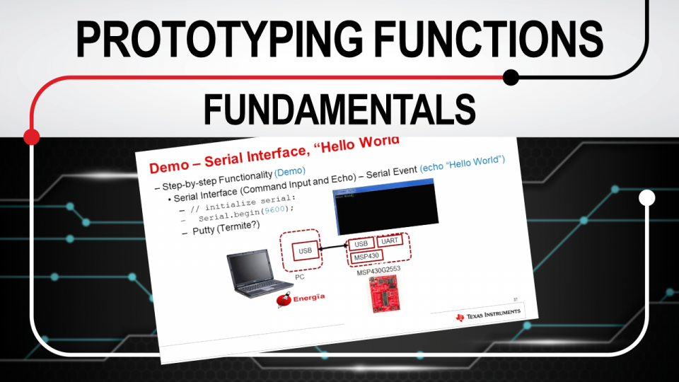Rapid prototyping fundamentals training series