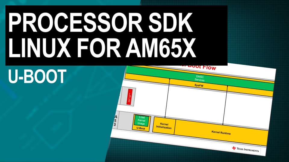 Processor SDK Linux for AM65x Sitara processors: U-boot
