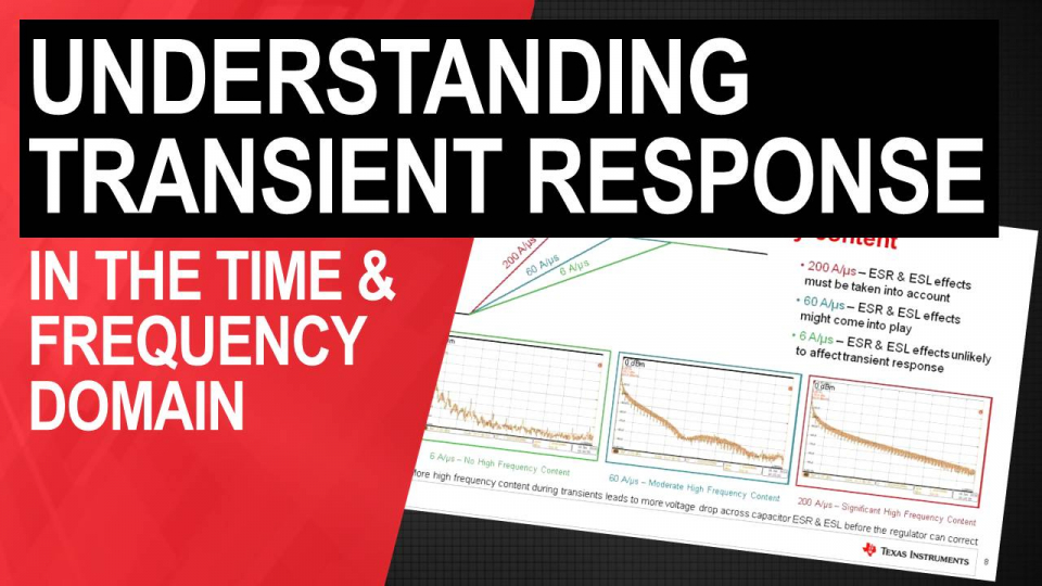 Understanding Transient Response in Time and Frequency Domains
